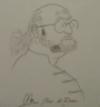 karykatura narysowana przez dr Kossowskiego
