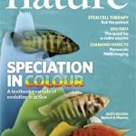 Okładka magazynu Nature