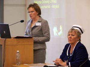 Minister zdrowia Ewa Kopacz